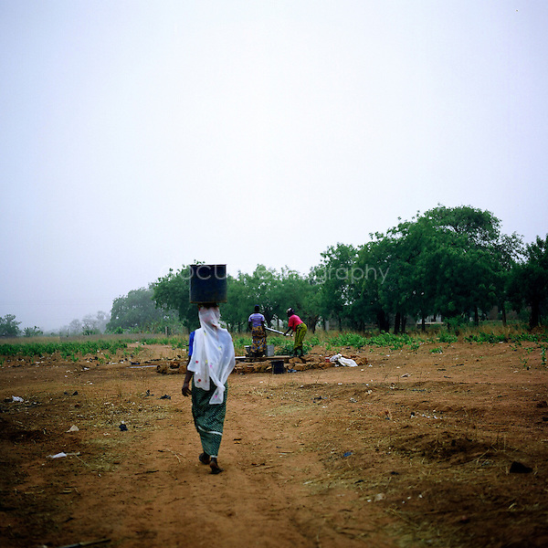 A water well in africa.