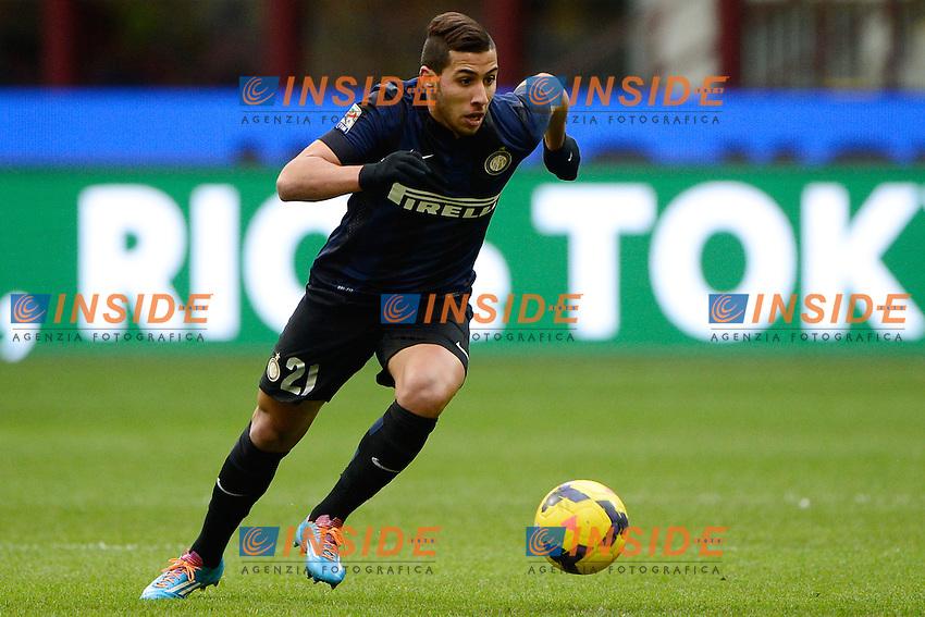 Saphir Taider Inter<br /> Milano 26-01-2014 Stadio Giuseppe Meazza - Football 2013/2014 Serie A. Inter - Catania Foto Giuseppe Celeste / Insidefoto