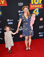 "LOS ANGELES, USA. June 12, 2019: Erika Christensen & Guests at the world premiere of ""Toy Story 4"" at the El Capitan Theatre.<br /> Picture: Paul Smith/Featureflash"