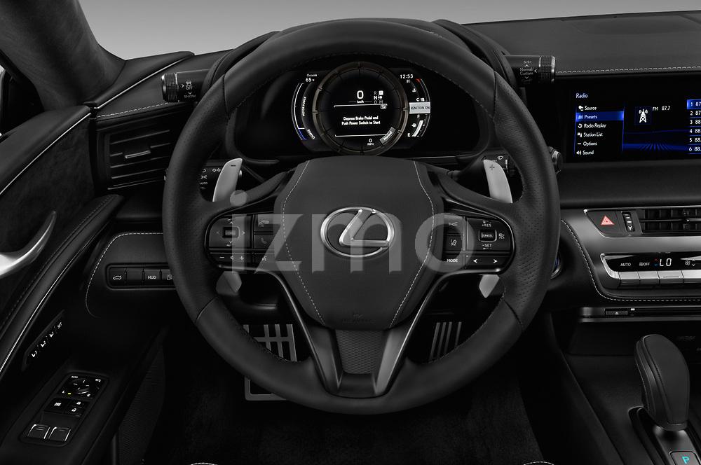 Car pictures of steering wheel view of a 2018 Lexus RX 350L 4x2 Select Doors Door SUV