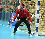 08.01.2019, Hohenschoenhausen, Berlin, GER, Handball WM, DHB,  TRAINING, im Bild <br /> Silvio Heinevetter (GER #12)<br /> <br />      <br /> Foto &copy; nordphoto / Engler