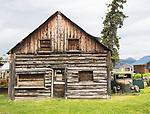 Atlin, log building