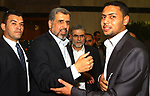 A file photo taken on May 4, 2011. Ramadan Abdullah Shalah, the former secretary-general of the Palestinian Islamic Jihad Movement,  attends a reconciliation ceremony between the Fatah party and the Hamas movement in the Egyptian capital Cairo. Ramadan Abdullah Shalah, the former secretary-general of the Palestinian Islamic Jihad Movement, died on June 7, 2020 at the age of 62 after a long illness. Shalah was the secretary-general of the Palestinian Islamic Jihad between 27 October 1995 and 2018. Photo by Ashraf Amra
