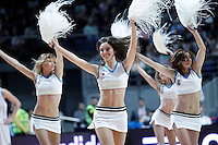 Real Madrid's cheerleaders during Euroleague 2012/2013 match.January 11,2013. (ALTERPHOTOS/Acero) NortePHOTO