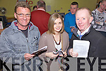 Enjoying a night at The Greyhound Track on Saturday night were l/r Anthony Morriarty, Vicki Morriarty and Michael Kelly................................................................................................................................................................................................................................................................................................................................................................................................................................................................................................................................................................................................................ ........................
