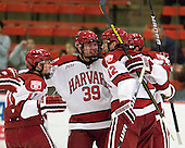 Kyle Criscuolo (Harvard - 11), Brian Hart (Harvard - 39), Brendan Rempel (Harvard - 12), Tommy O'Regan (Harvard - 13) - The Harvard University Crimson defeated the visiting Brown University Bears 3-2 on Friday, November 2, 2012, at the Bright Hockey Center in Boston, Massachusetts.