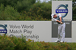 Rory McIlroy (N.IRL) tees off on the 2nd tee during the afternoon session on Day 2 of the Volvo World Match Play Championship in Finca Cortesin, Casares, Spain, 20th May 2011. (Photo Eoin Clarke/Golffile 2011)