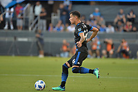 San Jose, CA - Saturday August 18, 2018: Luis Felipe during a Major League Soccer (MLS) match between the San Jose Earthquakes and Toronto FC at Avaya Stadium.