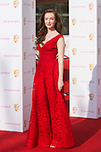 London, UK. 8 May 2016. Olivia Grant. Red carpet  celebrity arrivals for the House Of Fraser British Academy Television Awards at the Royal Festival Hall.