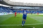 Robert Skov (Hoffenheim) beim Einwurf.<br /> <br /> Sport: Fussball: 1. Bundesliga: Saison 19/20: 33. Spieltag: TSG 1899 Hoffenheim - 1. FC Union Berlin, 20.06.2020<br /> <br /> Foto: Markus Gilliar/GES/POOL/PIX-Sportfotos<br /> <br /> Foto © PIX-Sportfotos *** Foto ist honorarpflichtig! *** Auf Anfrage in hoeherer Qualitaet/Aufloesung. Belegexemplar erbeten. Veroeffentlichung ausschliesslich fuer journalistisch-publizistische Zwecke. For editorial use only. DFL regulations prohibit any use of photographs as image sequences and/or quasi-video.