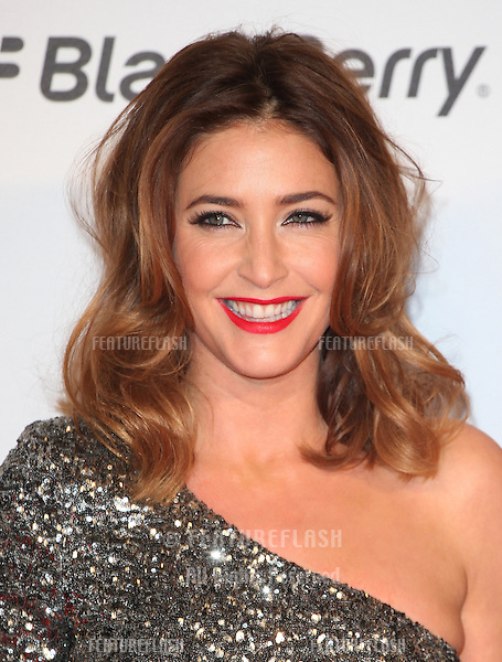 Lisa Snowdon arriving for the Capital Radio Jingle Bell Ball, O2 Arena, London. 08/12/2012 Picture by: Alexandra Glen / Featureflash