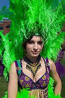 Alexandra Icela Prater, Panama Folklore Auburn Days Parade, Auburn, WA, USA.