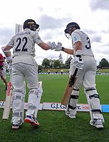 191203 International Test Cricket - NZ Black Caps v England 2nd Test, Day Five
