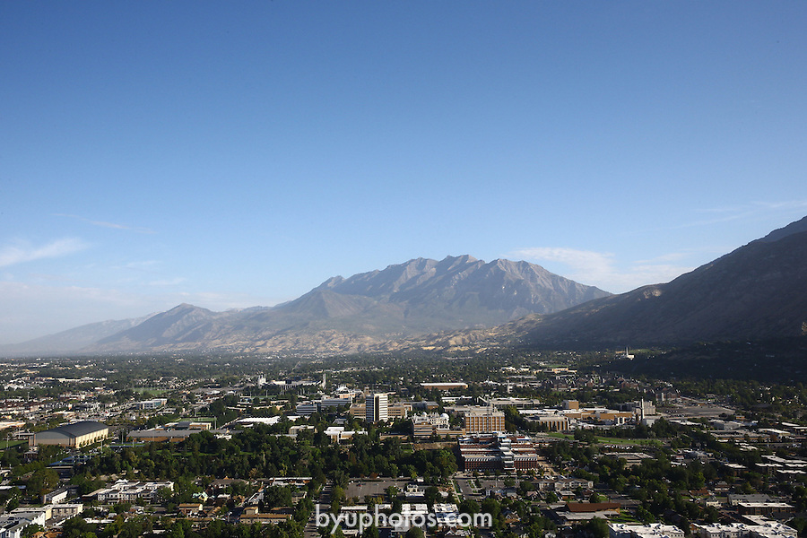 1309-22 1098<br /> <br /> 1309-22 BYU Campus Aerials<br /> <br /> Brigham Young University Campus South looking North, Provo, South Campus,  Mount Timpanogos, Provo Valley<br /> <br /> September 7, 2013<br /> <br /> Photo by Jaren Wilkey/BYU<br /> <br /> &copy; BYU PHOTO 2013<br /> All Rights Reserved<br /> photo@byu.edu  (801)422-7322