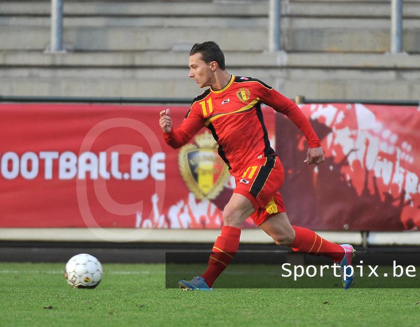 Belgium U19 - England U19 : Jordy Croux.foto DAVID CATRY / Nikonpro.be