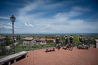 Team Mitchelton-Scott restday training ride aka 'coffee ride'<br /> <br /> restday 1 (20 may) of the 102nd Giro d'Italia 2019<br /> <br /> ©kramon