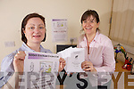Abbeyfeale Heritage Project members Adrienne O'Connell and Dearbhla Conlon-Ahern who are planning to launch a FETAC radio production course in Abbeyfeale.