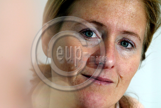 BRUSSELS - BELGIUM - 24 FEBRUARY 2004--Tessa SCHMIDBURG, Manager of International Development at Child Focus and Secretary General of the European Federation for Missing and Sexually Exploited Children.-- PHOTO: ERIK LUNTANG / EUP-IMAGES