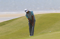 Sam Brazel (AUS) chips onto the 6th green during Thursday's Round 1 of the Dubai Duty Free Irish Open 2019, held at Lahinch Golf Club, Lahinch, Ireland. 4th July 2019.<br /> Picture: Eoin Clarke | Golffile<br /> <br /> <br /> All photos usage must carry mandatory copyright credit (© Golffile | Eoin Clarke)