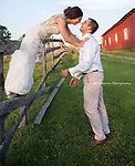 A beautiful country wedding near Nashville, Tennessee in the Big Red Barn in Beersheba, Springs.