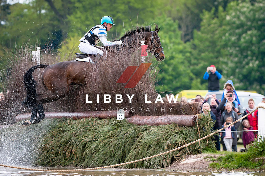 Andrew Hoy (AUS) rides Rutherglen during the Cross Country phase at the 2017 Mitsubishi Motors Badminton Horse Trials.  Saturday 6 May. Copyright Photo: Stephen Bartholomew  / Libby Law Photography