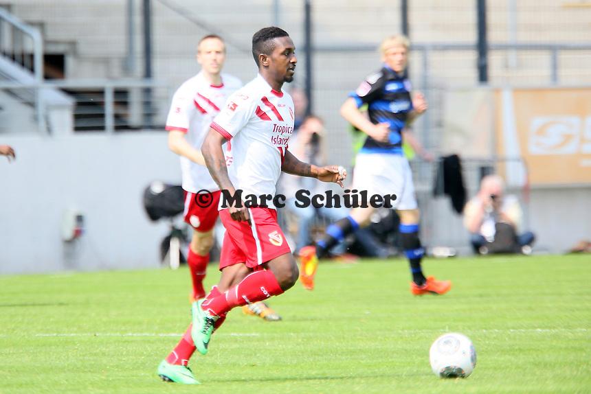 Charles Takyi (COttbus) - FSV Frankfurt vs. FC Energie Cottbus, Frankfurter Volksbank Stadion