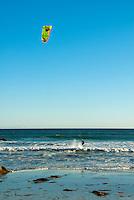 El Matador State Beach Malibu, kite-surfing, board, Getting Air
