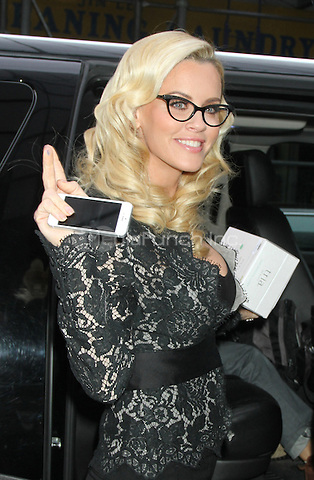 NEW YORK, NY - DECEMBER 5: Jenny McCarthy at Good Day NY in New York City. December 5, 2012. Credit: RW/MediaPunch Inc.