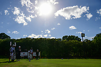 Cristie Kerr (USA) prepares to tee off on 18 during round 4 of  the Volunteers of America Texas Shootout Presented by JTBC, at the Las Colinas Country Club in Irving, Texas, USA. 4/30/2017.<br /> Picture: Golffile | Ken Murray<br /> <br /> <br /> All photo usage must carry mandatory copyright credit (&copy; Golffile | Ken Murray)
