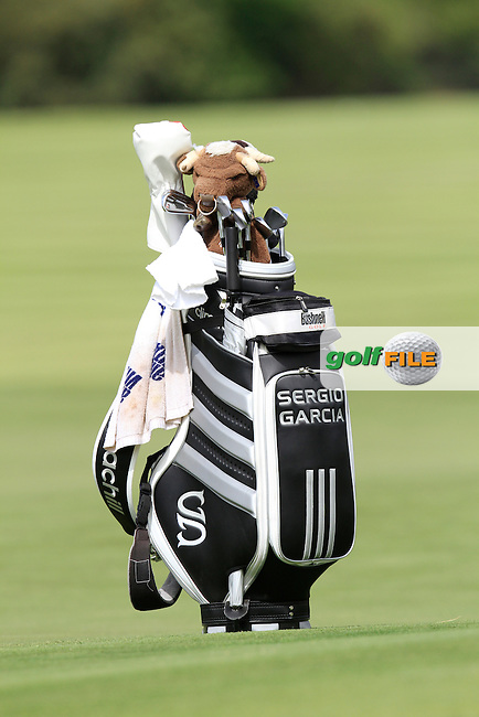Sergio Garcia (ESP) on the 5th green during the Pro-Am of the Open de Espana  in Club de Golf el Prat, Barcelona on Wednesday 13th May 2015.<br /> Picture:  Thos Caffrey / www.golffile.ie
