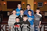 Young Einsteins:  Having fun at The Gables, Athea on Sunday night during Athea National Schools fundraising race night are Front l-r: Michael Tierney & John Sexton. Middle l-r: William Sexton, Ronan Hayes, Jason Kelly & Timmy Tierney. Back l-r: Jamie Kelly & Thomas Sexton..