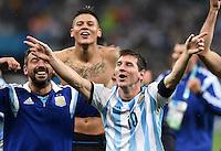 FUSSBALL WM 2014 HALBFINALE  Niederlande - Argentinien