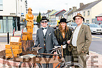 Pat O'Shea, Joan O'Shea and Joseph Brennan pictured at the unveiling of the Lady statue in Killorglin last Saturday.