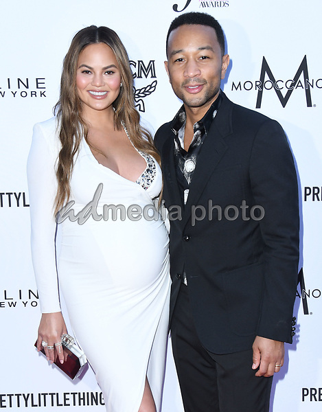 08 April 2018 - Beverly Hills, California - Chrissy Teigen, John Legend. The Daily Front Row's 4th Annual Fashion Los Angeles Awards held at The Beverly Hills Hotel. Photo Credit: Birdie Thompson/AdMedia