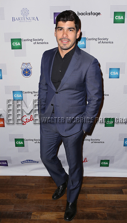 Raul Castillo attends the 30th Annual Artios Awards at 42 WEST on January 22, 2015 in New York City.