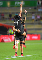 New Zealand wins the women's cup final. Day two of the 2020 HSBC World Sevens Series Hamilton at FMG Stadium in Hamilton, New Zealand on Sunday, 26 January 2020. Photo: Dave Lintott / lintottphoto.co.nz
