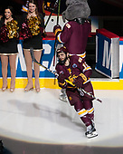 Willie Raskob (UMD - 15) - The University of Denver Pioneers defeated the University of Minnesota Duluth Bulldogs 3-2 to win the national championship on Saturday, April 8, 2017, at the United Center in Chicago, Illinois.