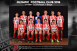 Olympic FC Under 12 Division 1 Boys 2018