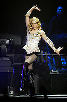Madonna performs at the Forum