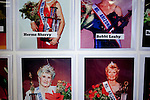 A display of former Senior Arizona Queens sits on a table at the Sundial Recreation Center following the Sun City Parade in Sun City, Arizona March 13, 2010. 2010 marks the 50th anniversary of Sun City, the first planned retirement city in the United States.
