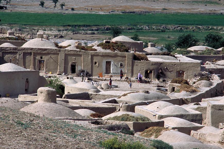 Afghan village on the way to Bala Murghab