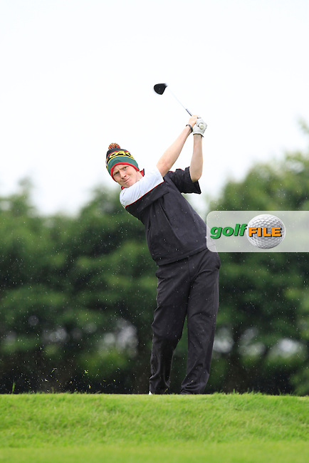 Shane McGagh (Claremorris) on the 6th tee during Round 3 of the Irish Boys Amateur Open Championship at Thurles Golf Club on Thursday 26th June 2014.<br /> Picture:  Thos Caffrey / www.golffile.ie