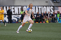 Seattle, WA - Thursday July 27, 2017: Samantha Mewis during a 2017 Tournament of Nations match between the women's national teams of the United States (USA) and Australia (AUS) at CenturyLink Field.