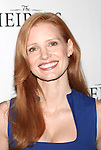 Jessica Chastain attending the Meet & Greet the Broadway Cast of 'The Heiress'  at the Empire Hotel in New York City on September 13, 2012