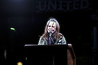 www.acepixs.com<br /> January 19, 2017  New York City<br /> <br /> Sally Field speaks during the We Stand United Rally outside Trump International Hotel &amp; Tower on January 19, 2017 in New York City.<br /> <br /> Credit: Kristin Callahan/ACE Pictures<br /> <br /> Tel: 646 769 0430<br /> Email: info@acepixs.com