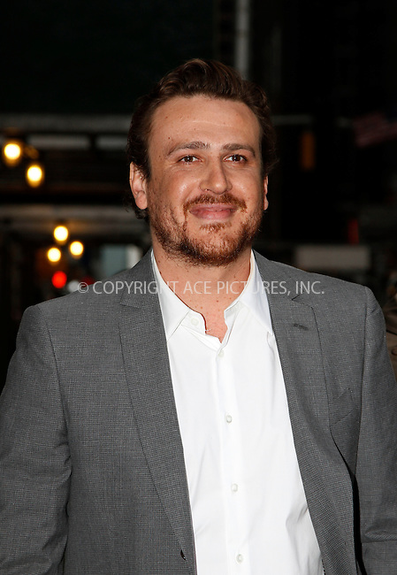 WWW.ACEPIXS.COM . . . . .  ....April 23 2012, New York City....Actor Jason Segel made an appearance at the Late Show with David Letterman on April 23 2012 in New York City....Please byline: John Peters - ACE PICTURES.... *** ***..Ace Pictures, Inc:  ..Philip Vaughan (212) 243-8787 or (646) 769 0430..e-mail: info@acepixs.com..web: http://www.acepixs.com
