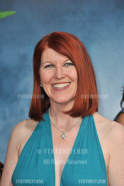Kate Flannery at the premiere of Pineapple Express at the Mann Village Theatre, Westwood..July 31, 2008  Los Angeles, CA.Picture: Paul Smith / Featureflash