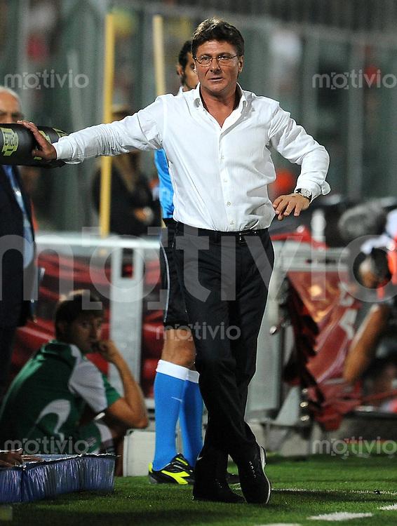 FUSSBALL INTERNATIONAL   SERIE A   SAISON 2011/2012    AC Cesena - SSC Neapel  10.09.2011 Trainer Walter Mazzarri (SSC Neapel)