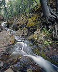 Unnamed Falls, Keeweenaw County, Michigan, June, 1987