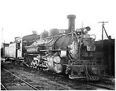 D&amp;RGW #478 K-28 at Durango.<br /> D&amp;RGW  Durango, CO  Taken by Payne, Andy M. - 8/19/1954